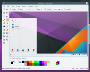 kolourpaint screenshot