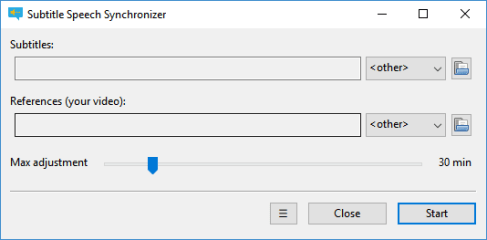 SubSync screenshot