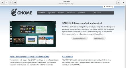 GNOME Web screenshot