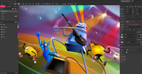 gravit-designer screenshot