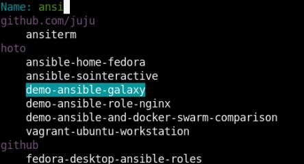 Fuzzy Repo Finder screenshot