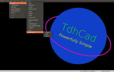 TdhCad screenshot