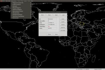TdhGIS screenshot
