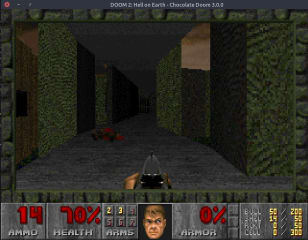 chocolate-doom-jdstrand screenshot