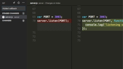 Visual Studio Code - Insiders screenshot