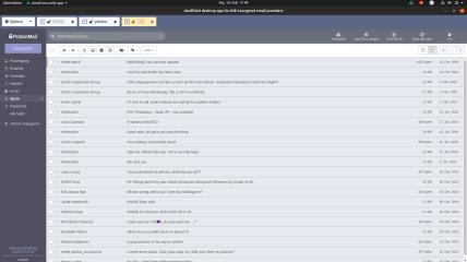 ElectronMail screenshot
