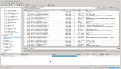 EiskaltDC++ screenshot