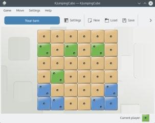 kjumpingcube screenshot
