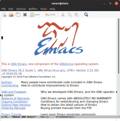GNU Emacs screenshot