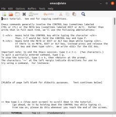 GNU Emacs screenshot