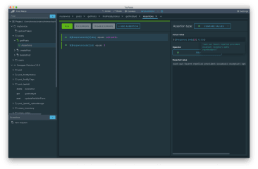 testmace screenshot