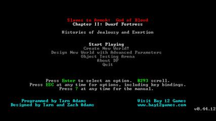 Dwarf Fortress Classic screenshot