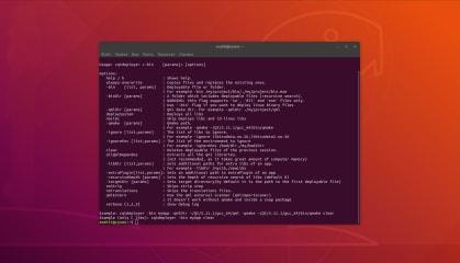 CQtDeployer screenshot