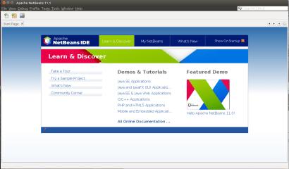Apache NetBeans screenshot