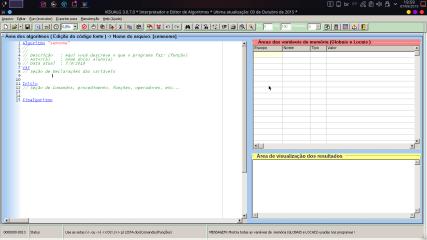 VisualG screenshot