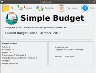 Simple Budget screenshot