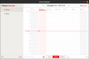 iCloud screenshot
