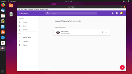Hyperspace Desktop screenshot