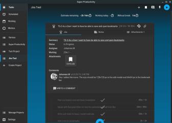 Super Productivity screenshot