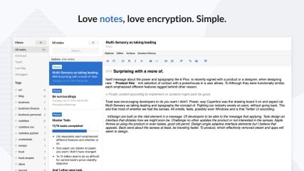 Standard Notes screenshot