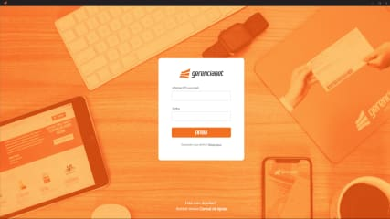 Gerencianet App Desktop screenshot
