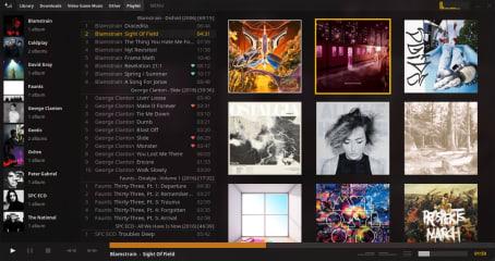 Tauon Music Box screenshot