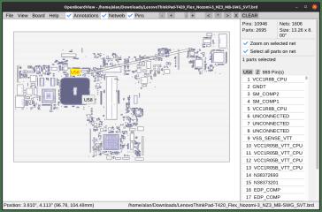 OpenBoardView screenshot