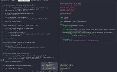 Kakoune code editor screenshot