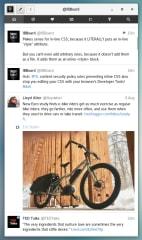 Cawbird Twitter Client screenshot