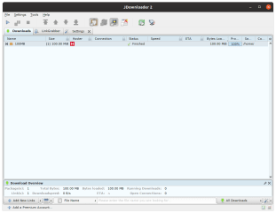 JDownloader 2 screenshot