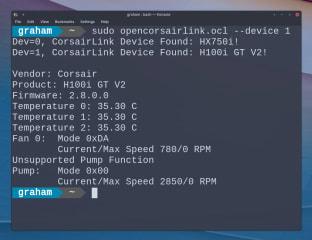 OpenCorsairLink screenshot