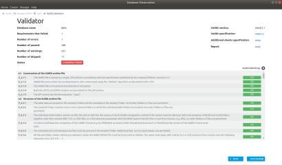 Database Preservation Toolkit screenshot