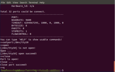 serialporttool screenshot