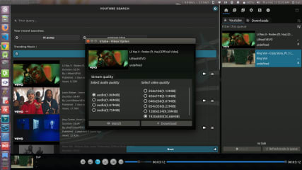 Utube - Complete Youtube App for Linux screenshot