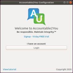 Accountable2You screenshot