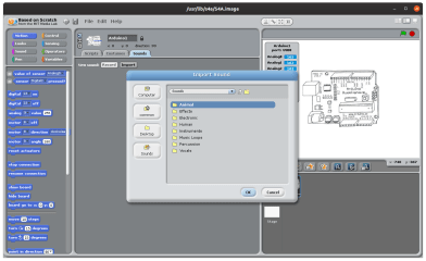 S4A - Scratch for Arduino screenshot