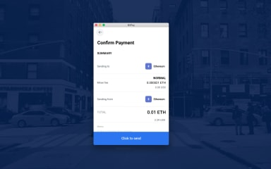 BitPay screenshot