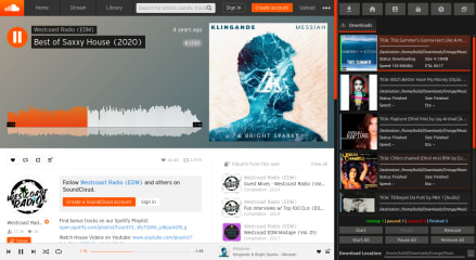 Orange - SoundCloud Client screenshot