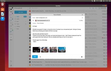 TypeApp Mail screenshot
