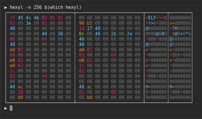 hexyl screenshot