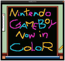 SameBoy screenshot