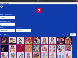 Labeler screenshot