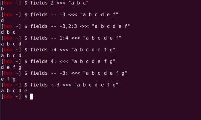 fields screenshot
