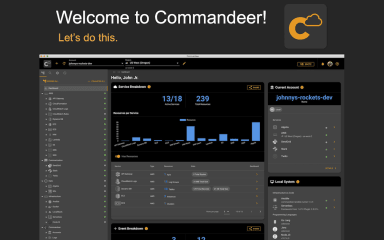 Commandeer screenshot