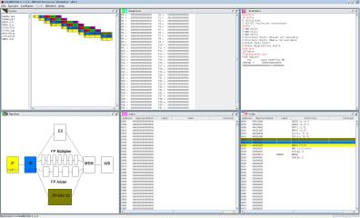 EduMIPS64 screenshot