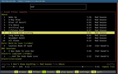 musikcube screenshot