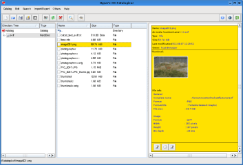 cdcat screenshot