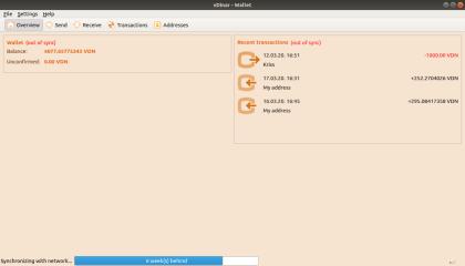 vDinar screenshot