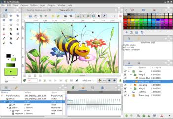 Synfig Studio screenshot