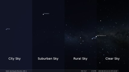 Stellarium-git screenshot